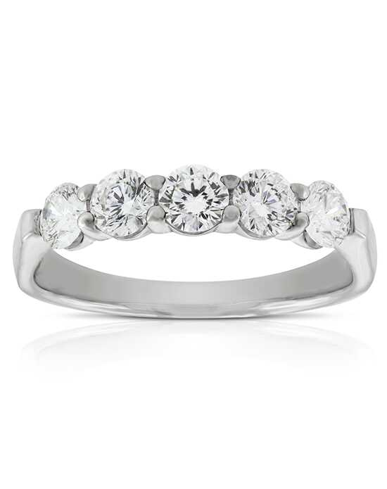 Ben Bridge Jeweler Signature Forevermark Diamond Band 18K - 11231628 White Gold Wedding Ring