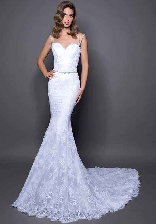 LOVE by Pnina Tornai for Kleinfeld 14573 Sheath Wedding Dress