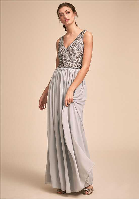 BHLDN (Bridesmaids) Mischa Dress V-Neck Bridesmaid Dress