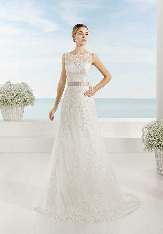 Luna Novias TESORO A-Line Wedding Dress