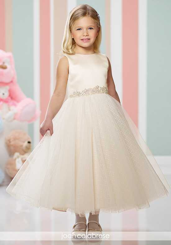 Joan Calabrese by Mon Cheri 216304 Gold Flower Girl Dress