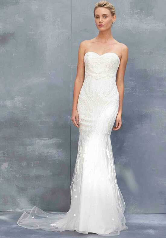 Kenneth Pool Nessa Sheath Wedding Dress