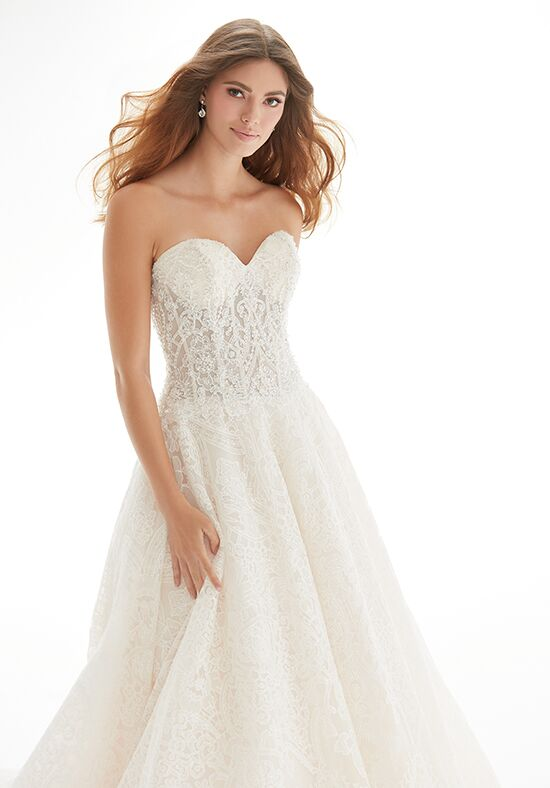 Madison James MJ402 A-Line Wedding Dress
