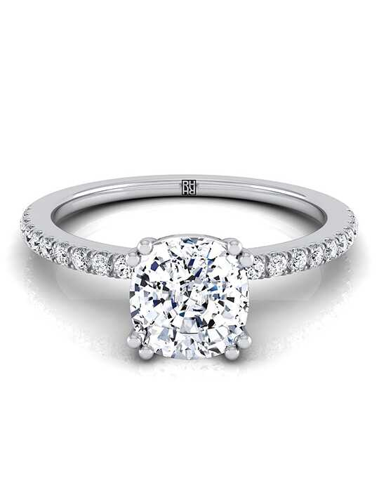 RockHer Classic Cushion Cut Engagement Ring