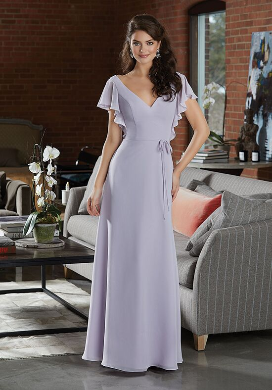 Morilee by Madeline Gardner Bridesmaids 21591 V-Neck Bridesmaid Dress