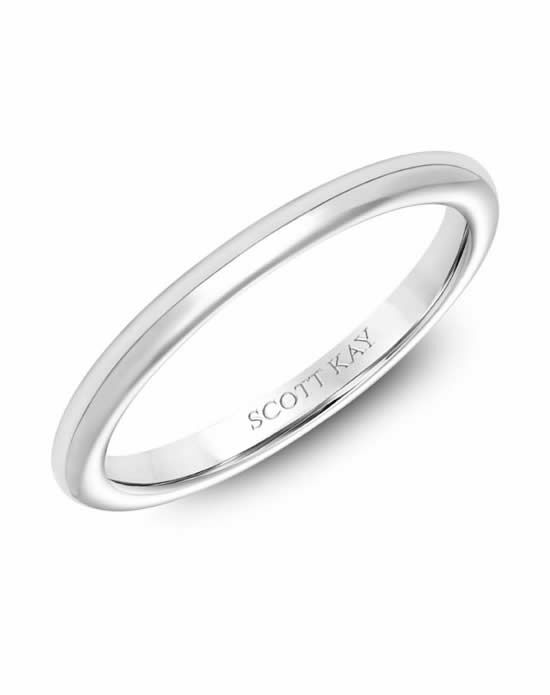 Scott Kay 31-SK6036W-L Platinum Wedding Ring
