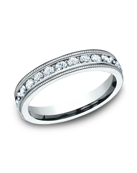 Benchmark 534550W White Gold Wedding Ring