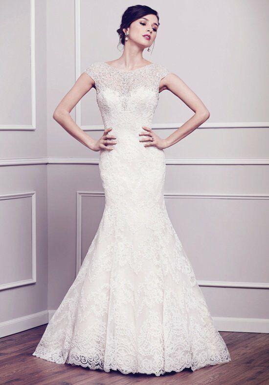 Bateau Wedding Dress