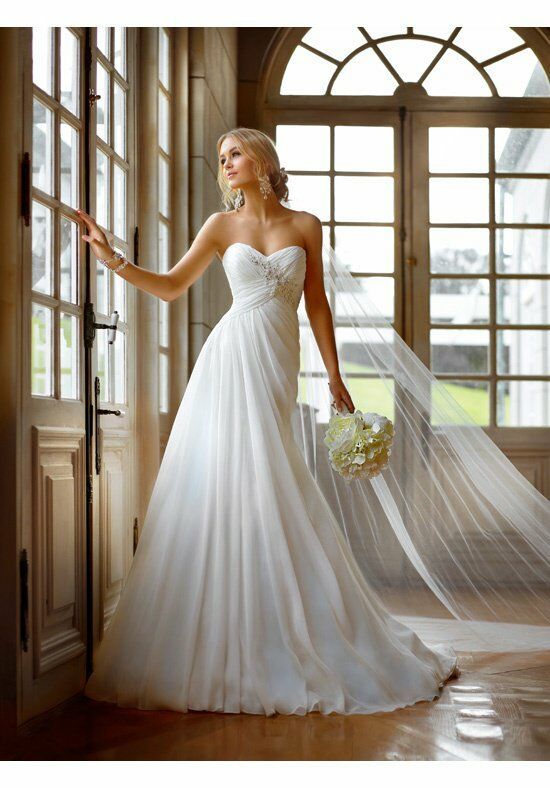 Stella york 5757 wedding dress the knot for How do you preserve a wedding dress