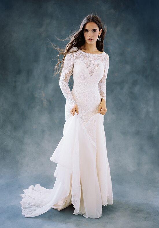 f55b0149 Chiffon Wedding Dresses | The Knot