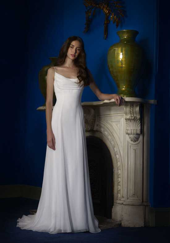 Robert Bullock Bride Autumn Sheath Wedding Dress