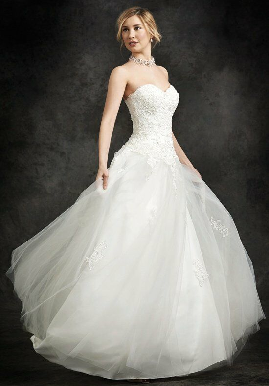 Ella Rosa BE231 A-Line Wedding Dress