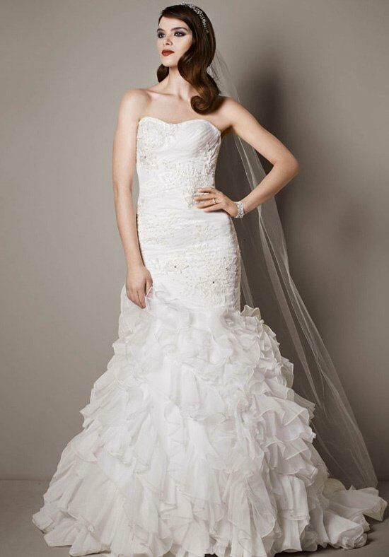 Davids bridal galina signature style swg560 wedding dress the knot davids bridal galina signature style swg560 mermaid wedding dress junglespirit Gallery
