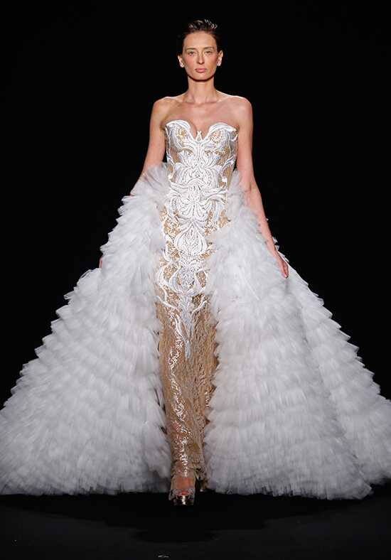 Mark Zunino for Kleinfeld 149 Sheath Wedding Dress