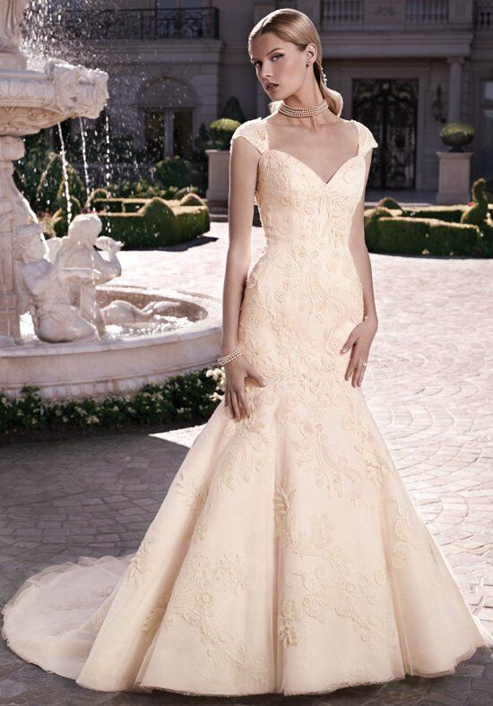 Casablanca Bridal 2120 Mermaid Wedding Dress