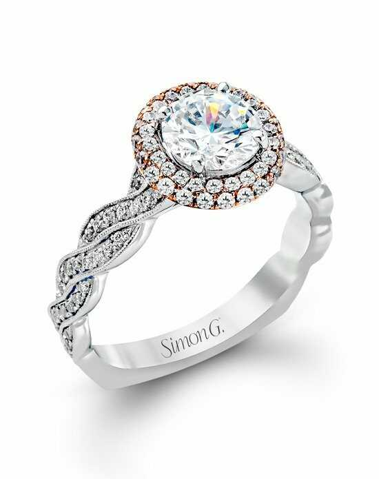 Simon G. Jewelry MR2133 Engagement Ring photo