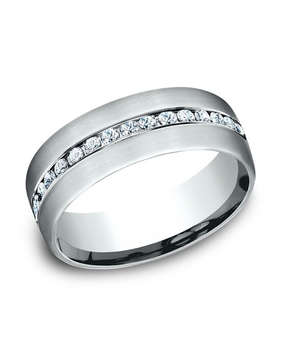 Benchmark CF717573W White Gold Wedding Ring