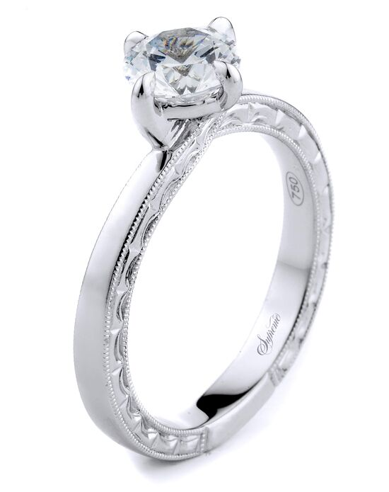 Supreme Jewelry Classic Round Cut Engagement Ring