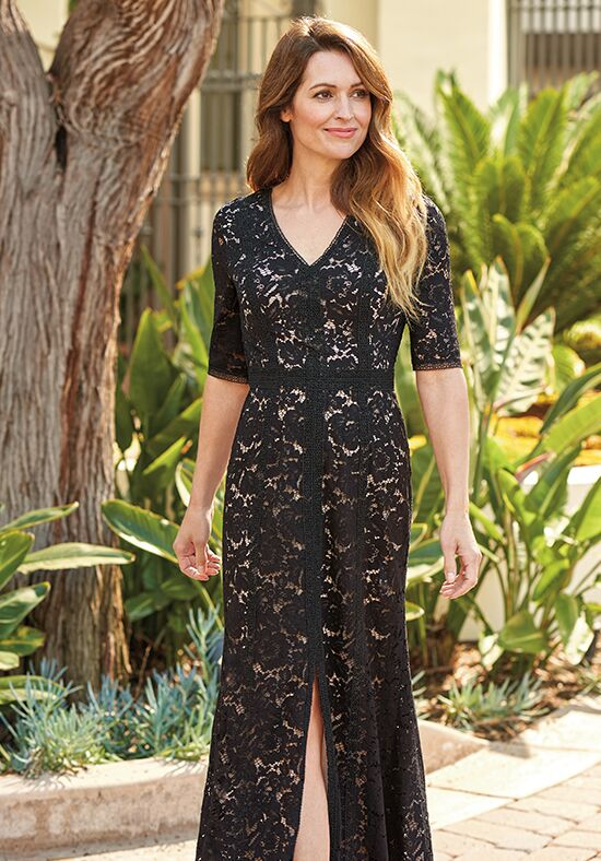 Jade J205070 Black Mother Of The Bride Dress