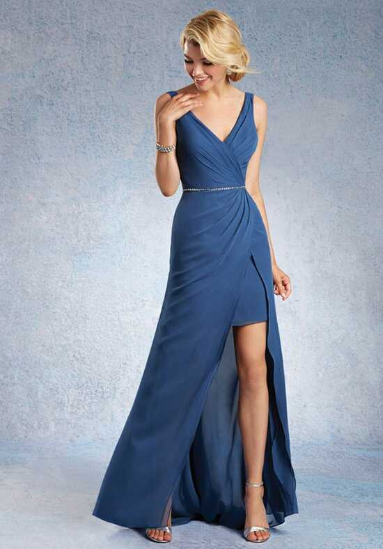 Alfred Angelo Signature Bridesmaids Collection 7338L V-Neck Bridesmaid Dress