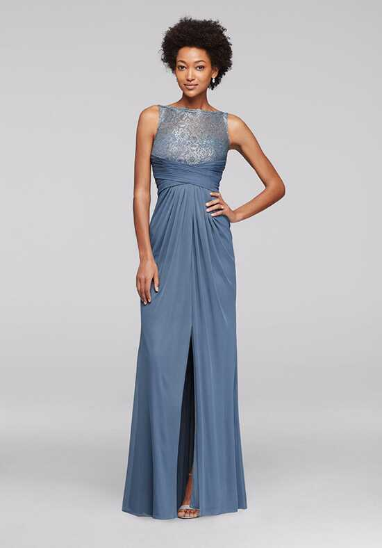 David's Bridal Collection David's Bridal Style F15749M Illusion Bridesmaid Dress
