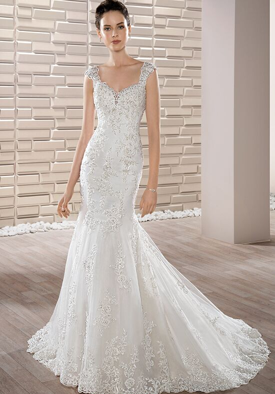 Demetrios 675 Mermaid Wedding Dress