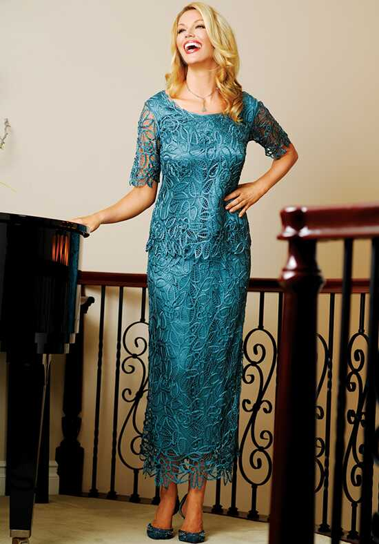LuxeLace by Soulmates C8080 Blue Mother Of The Bride Dress