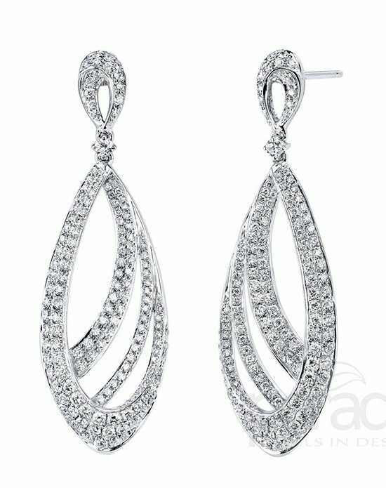 Parade Designs E3186A from the Lumiere Collection Wedding Earring photo