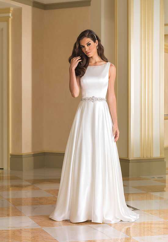 Justin Alexander 8866 A-Line Wedding Dress