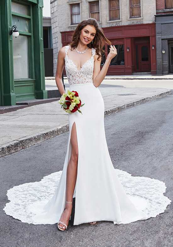 KITTYCHEN Couture LIZA, K1895 Sheath Wedding Dress