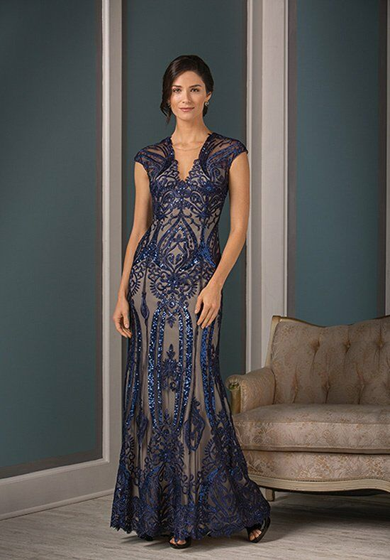Jade Couture K188001 Blue Mother Of The Bride Dress