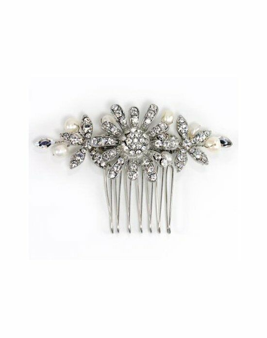 Anna Bellagio Makayla Side Comb Pins, Combs + Clip