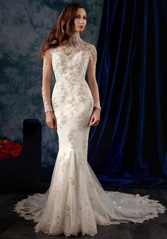 Alfred Angelo Sapphire Bridal Collection 980 Sheath Wedding Dress