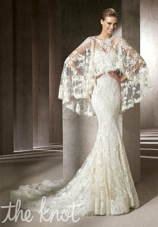 Manuel Mota For Ovias Erika Mermaid Wedding Dress