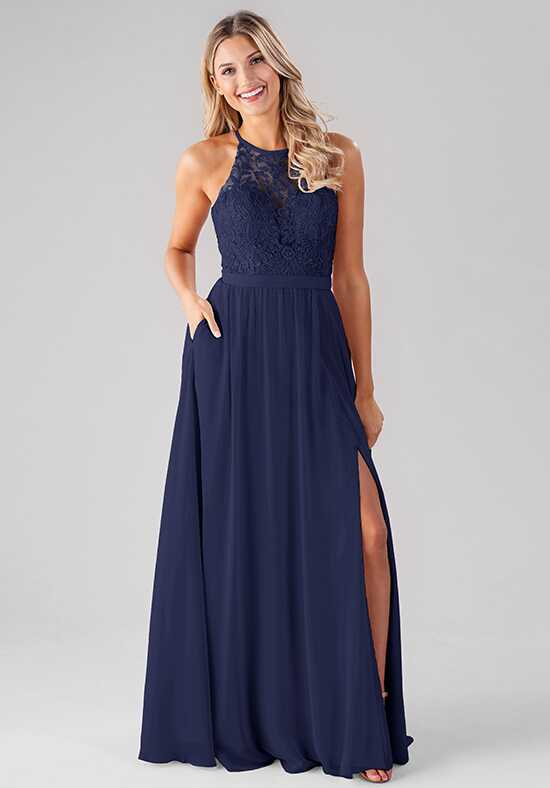 Kennedy Blue Melanie Illusion Bridesmaid Dress
