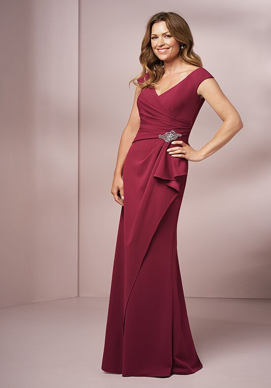 Jade J205005 Red Mother Of The Bride Dress