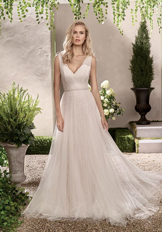 Jasmine collection f191002 wedding dress the knot for Jasmine collection wedding dress