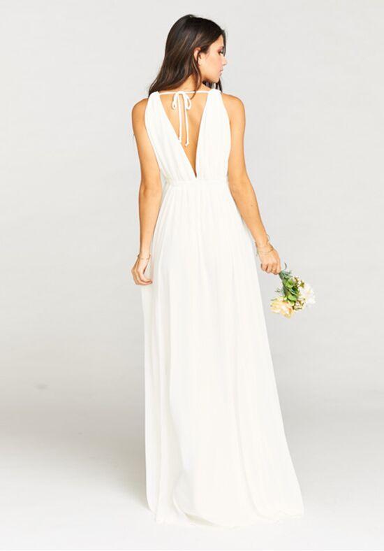 Show Me Your Mumu Ava Maxi Dress Wedding Cake Chiffon