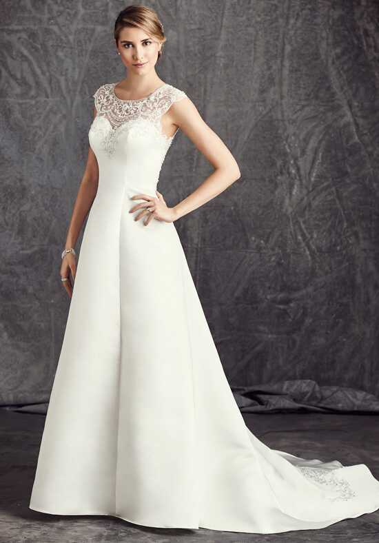 Kenneth Winston: Ella Rosa Collection BE291 A-Line Wedding Dress