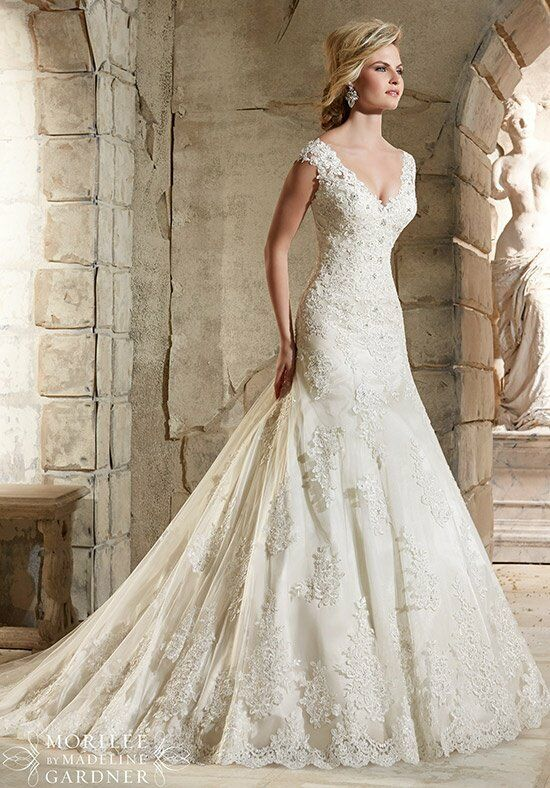 Morilee By Madeline Gardner 2785 A Line Wedding Dress