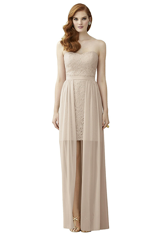 Dessy Collection 2954 Sweetheart Bridesmaid Dress