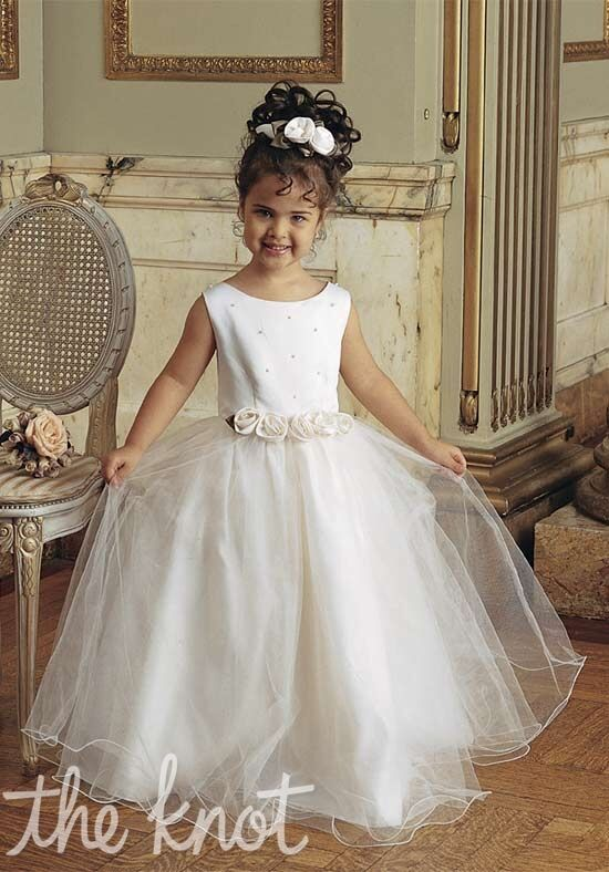 Sweetie Pie Collection 523 Ivory Flower Girl Dress