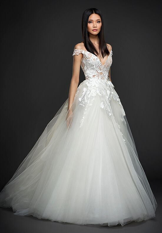 Lazaro 3764 Ball Gown Wedding Dress