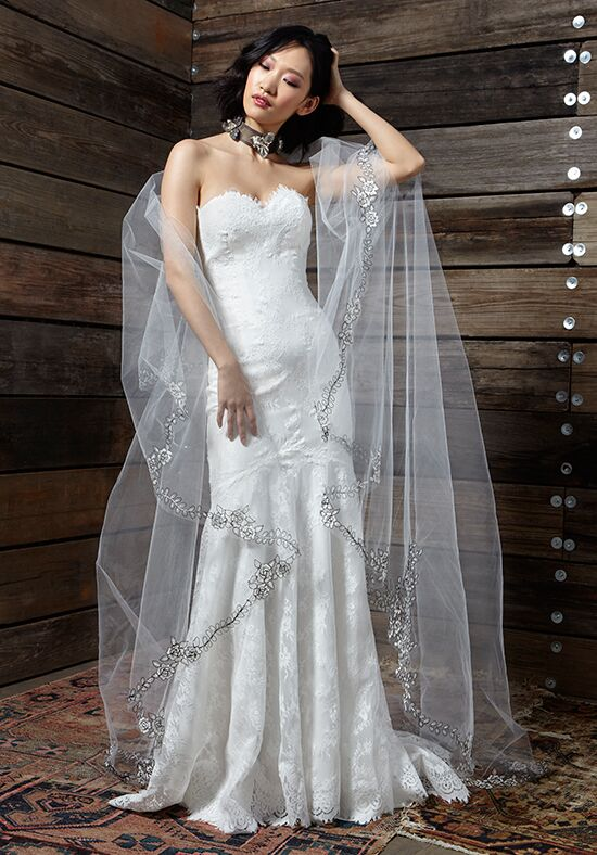 Ivy & Aster Touch of Grey Wedding Dress - The Knot
