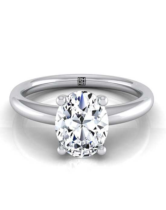 RockHer Classic Oval Cut Engagement Ring