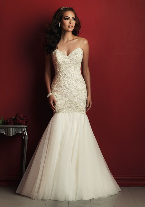 Allure Couture C362 Mermaid Wedding Dress