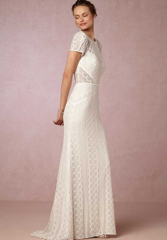 BHLDN Monica Gown Sheath Wedding Dress