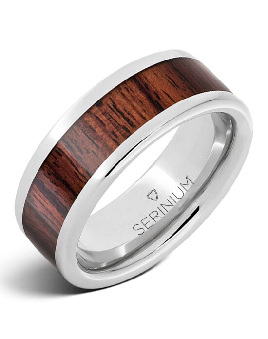 Serinium® Collection Yachtsman — Serinium® Kingwood Inlay Ring-RMSA002772 Serinium® Wedding Ring