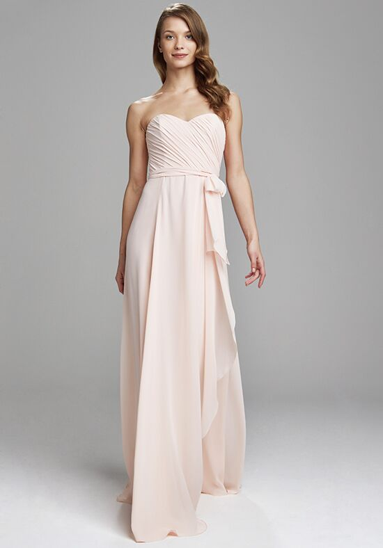 Amsale Bridesmaids Jaycie Strapless Bridesmaid Dress