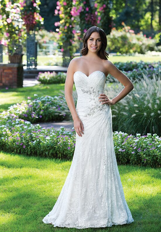 Sincerity Bridal 3925 Mermaid Wedding Dress